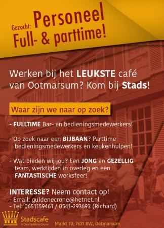 Poster stadscafe